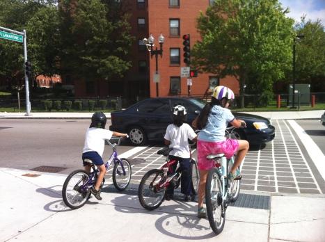 bike traffic jam
