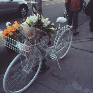 Ghost Bike for Marcia Deihl, killed on her bicycle March 11, 2015: http://www.bostonglobe.com/metro/2015/03/11/fatal-pedestrian-crash-reported-near-liberty-hotel/njdO2coydQvMgOPYcOCaSL/story.html